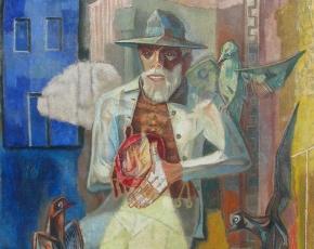 Artist Peppino Mangravite 1896-1978.
