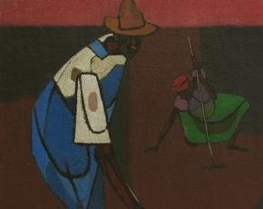 Artist Robert Gwathmey 1903-1988.