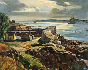 Artist William Lester Stevens 1888-1969.