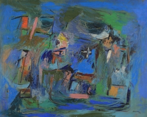 Artist Ralph Rosenborg 1913-1992.