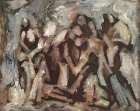 Artist Maurice Golubov 1905-1987.