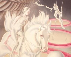 Artist Clarence Holbrook Carter 1904-2000.