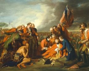 Artist Benjamin West 1738-1820.