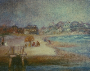Artist William Glackens 1870-1938.