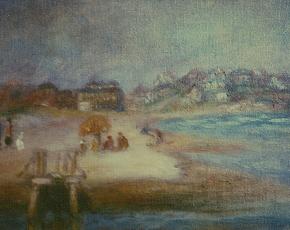 Artist William Glackens 1870-1938.