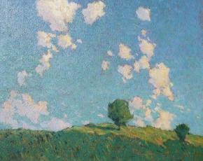 Artist Marvin Cone 1891-1964.