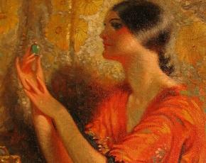 Artist James Calvert Smith 1878-1962.