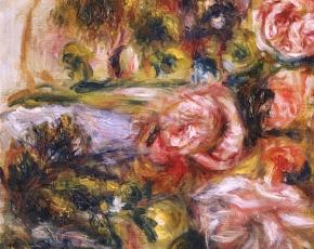 Artist Pierre August Renoir 1841-1919.
