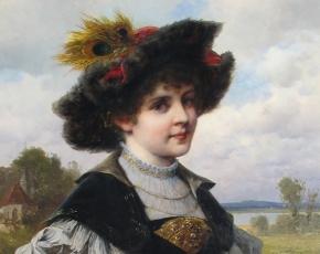 Artist Ferdinand Wagner II 1847-1927.