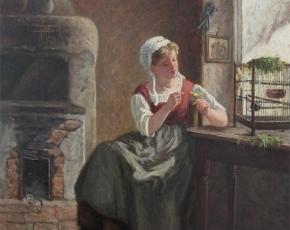 Artist Michel Arnoux 1833-1877.