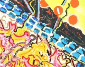 Artist Nancy Graves 1939-1995.