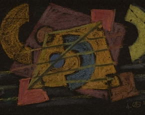 Artist Werner Drewes 1899-1985.