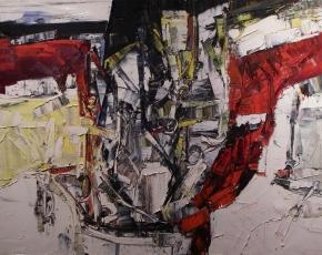 Artist Jean Paul Riopelle 1923-2002.