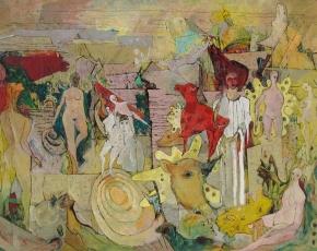 Artist Wesley Lea 1914-1981.