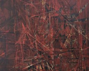 Artist Jimmy Ernst 1920-1984.
