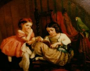 Artist George Lambdin 1830-1896.