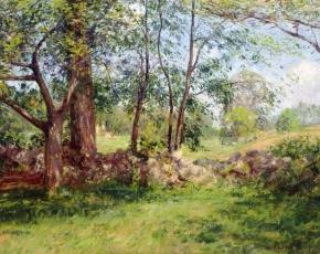 Artist Joseph DeCamp 1858-1923.