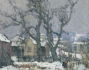 Artist John Folinsbee 1916-1981.