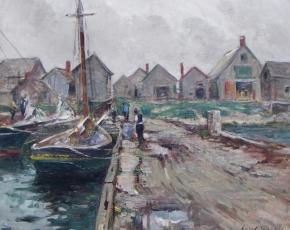 Artist Guy C. Wiggins 1883-1962.