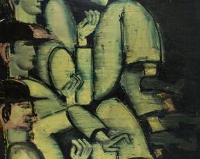 Artist Lester Johnson 1919-2010.