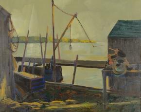 Artist Edward Christiana 1912-1992.