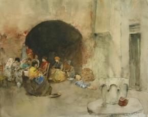 Artist Robert Blum 1857-1903.