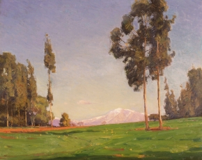Artist William Wendt 1865-1946.