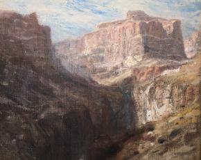 Artist Thomas Cole 1832-1920.