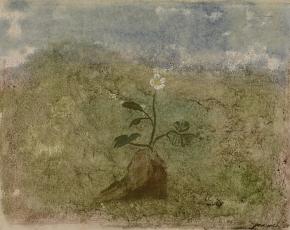 Artist Morris Graves 1910-2001.