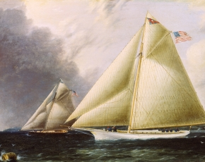 Artist James E. Buttersworth 1817-1894.