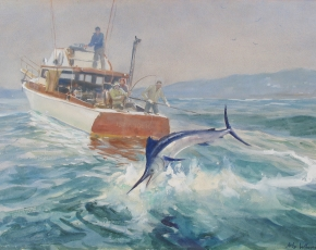 Artist John Whorf 1903-1959.