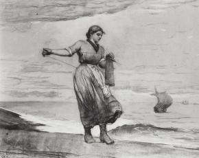 Artist Winslow Homer 1836-1910.