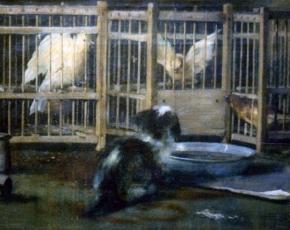 Artist John Haberle 1856-1933.