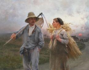 Artist August Hagborg 1852-1921.