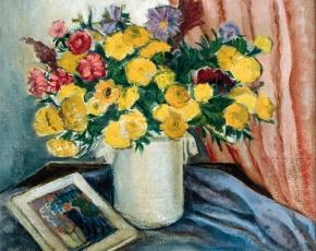 Artist Richard Heyley Lever 1875-1958.