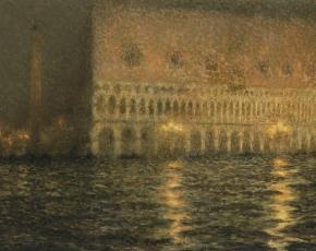 Artist Henri Le Sidaner 1862-1939.