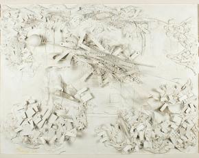 Artist Lloyd Ney 1893-1965.