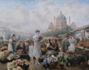 Artist Emil Barbarini 1855-1930.