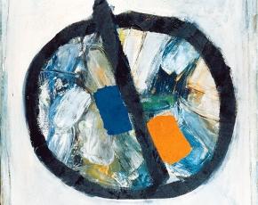 Artist Kenneth Noland 1924-2010.
