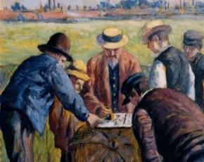 Artist Maximilien Luce 1858-1941.