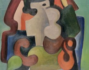 Artist Louis Stone 1909-2008.