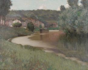 Artist Edward Dufner 1872-1957.