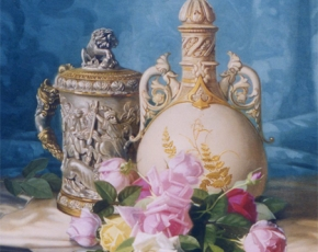 Artist Edward Chalmers Leavitt 1842-1904.