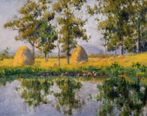 Artist Carl John Blenner 1901-1985.