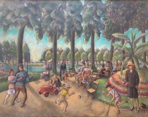 Artist William Palmer 1906-1987.