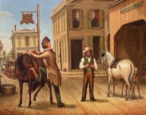 Artist Otis Bullard 1816-1853.