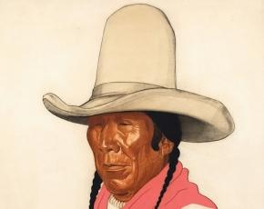 Artist Winold Reiss 1886-1953.