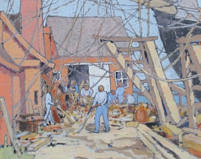 Browse and inquire about works on paper for sale at Caldwell Gallery Hudson.