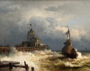 Artist Hermann Herzog 1832-1932.
