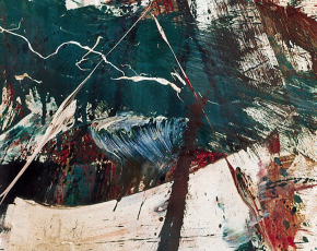 Artist Michael Goldberg 1924-2007.